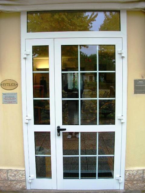 Finestrature alluminio gruppo zancop - Porte usate per esterno ...